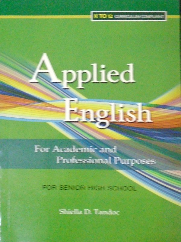 Applied English for Academic and Professional Purposes (SHS APPLIED) - image 39-600x800 on https://www.mindshaperspublishing.com